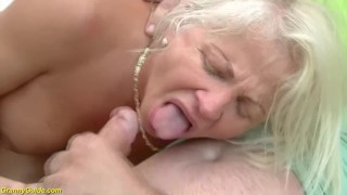 73 years old granny rough anal fucked