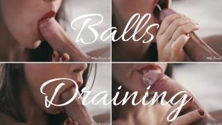 Screen Capture of Video Titled: Lei non riesce a smettere di svuotarmi le palle