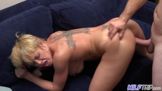 MILF Trip - Sexy short-haired blonde MILF Dee Williams