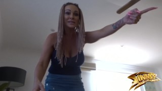 BAD MOM catches stepson Jerkin off and LOSES IT