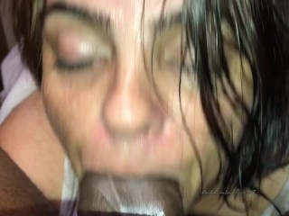 She told me to cum in her mouth so I did