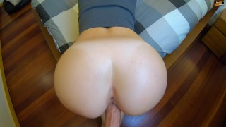 Amateur Doggystyle with Pussy Fart and Explosive Cumshot PAWG
