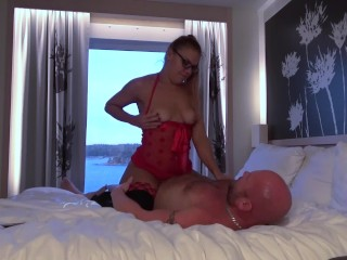 My stepdaddy fucked me good & hard on a sex cruise (2 cameras version)