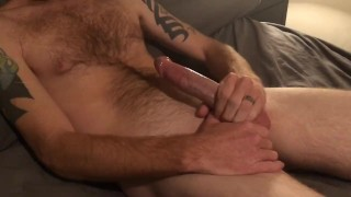 Amateur Long and Slow Hand Job with Cum