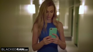 BLACKEDRAW Hot Blonde Cheats And Records All Of It!
