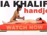 MIA KHALIFA – Arab Goddess Performs Expert Level Handjob On Peter Green