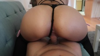 Step sister seduces brother (sexy ass pounding)
