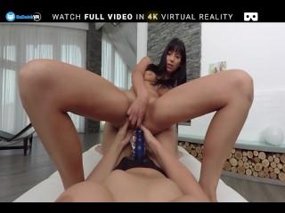 BaDoink VR Hot Lesbian Beauties Enjoy Using Strapon