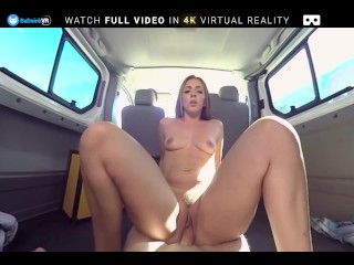BaDoink VR Hot Teen With Big Ass Squirts And Gets A Free Ride