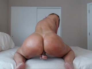 Milf Jess Ryan xmas tease~ sorry my sound went out half way thru~ anal little gape