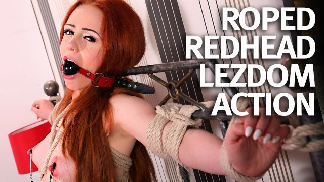 Bright redhead girl in bondadge and gaged getting fucked hard Natural Redhead First Time Bound And Fucked Pornhub Com