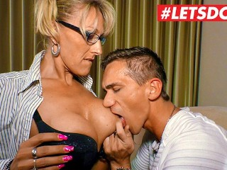 German Stud Seduced and Fucked by His Hot Mature Step Aunt - LETSDOEIT
