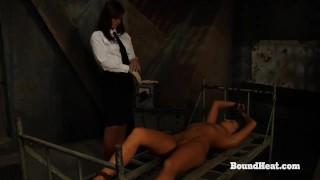 No Escape 2: Lesbian Maid Enjoys In Slave Training