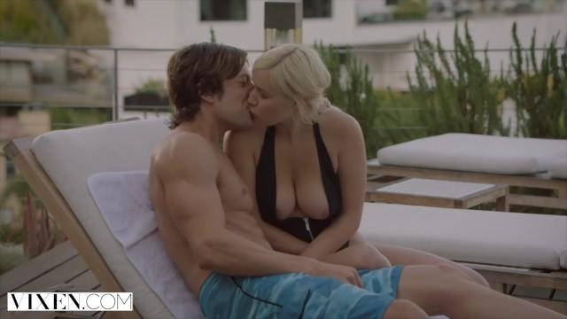 VIXEN Naughty Blonde Fucks her Sisters Man - Pornhub.com