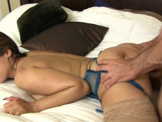 Horny Reena Sky Fucks Her Stepbrother While No one is Home