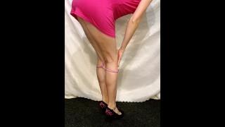 I've Found How My Stepsister Seduces Guys on Webcam...very timid striptease