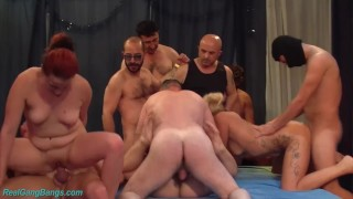 real german groupsex party fuck orgy