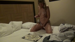 Possessed Nympho Milf Gets Fucked by Ouija Board Ghost