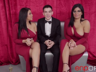 Threesome with Kesha and Sheila Ortega