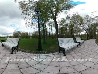 Public upskirt VR video by Jeny Smith