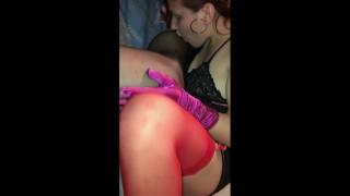 Young kinky Teen girl lick feet,foot and suck foot toes NYLON FEET FETISH