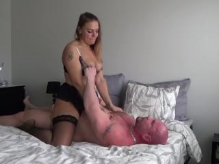 Having 100% Real Sex in our bedroom (Cam 2) -Jan Hammer
