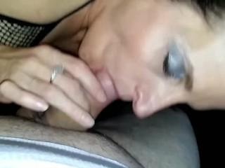 She loves to suck cuck