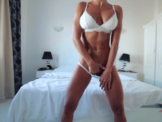 Fitness milf with hot body fucked in anal doggystyle