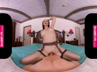 BaBeVR.com Big Titted French MILF Laly Vallade Welcomes You With A Pussy