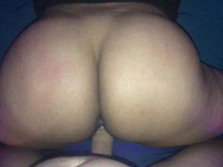 Big booty POV tease