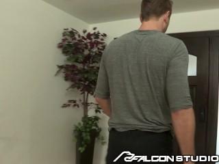 FalconStudios Hot Cable Man Daddy & His Bulge Is Pretty BIG!