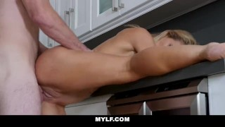 MYLF - Cherie Deville Gets Pussy Fucked By Her Husbands Brother