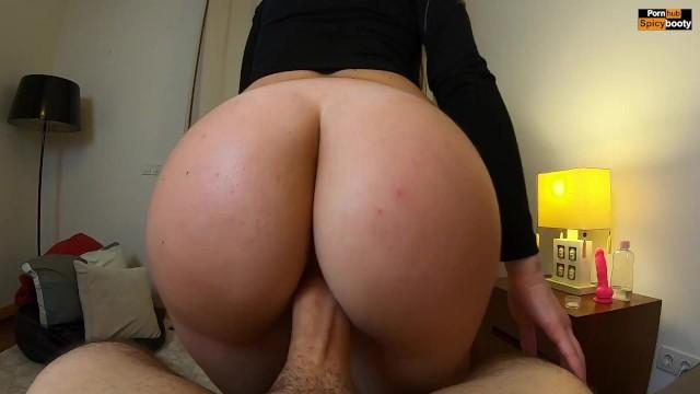 Weiblicher Orgasmus Reverse Cowgirl