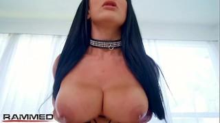 Rammed - Punk slut Katrina Jade used by 2 dicks in threesome