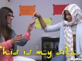 MIA KHALIFA – Busty Arab Pornstar Trains Her Muslim Friend How To Suck Cock
