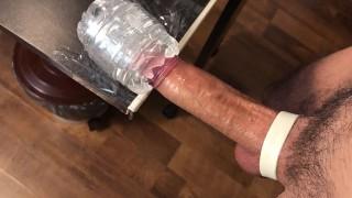 Moaning Amateur Guy Slowly Fucking Fleshlight Huge Load - 4K