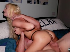 Kenzie Reeves Gets Her Tiny Pussy Stretched And Creampied By Monster Cock
