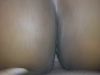 Getting creamy pussy from bbw – watch her cum all over my dick