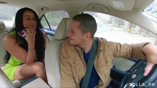 Screen Capture of Video Titled: I seduced my uber driver in spite of my terrible husband
