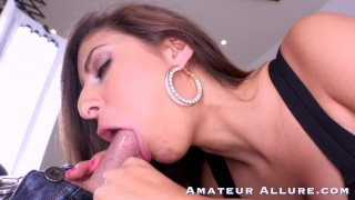 HOT GIRLS BLOWJOB and FUCKING COMPILATION - AMATEUR ALLURE
