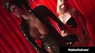Latex Lesbian Slave