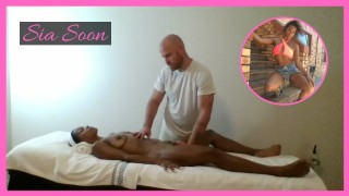 Ebony Milf Massage