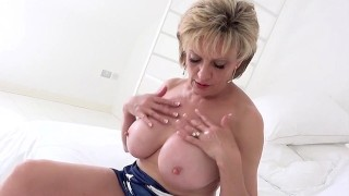 Busty Mature Solo