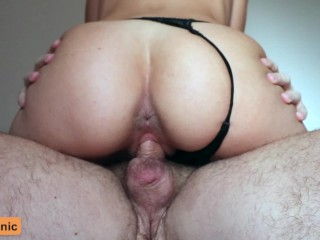She Keeps Riding My Cock After Getting Creampied! (60 FPS) - Cumtonic
