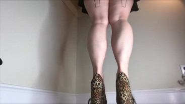 My Legendary Legs Calves Calf Muscle Fetish Leg Worship Heels Wedge Muscular