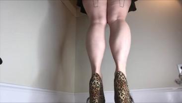 My Legendary Legs Calves Calf Muscle Fetish Leg Worship Heels Wedge Muscular