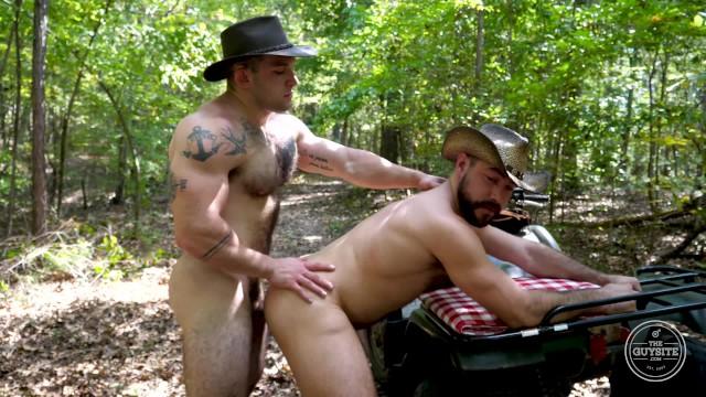 Hairy threesome men rough bareback breeding pornhub Cowboys Bareback Big Bush Men From The Guy Site Pornhub Com
