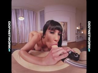 Sensuality with sex machine gives VR goddess Valentina Ricci orgasms in POV
