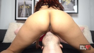 He Licks My Delicious Pussy And I Love It - Facesitting Orgasm