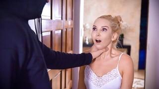 MYLFDom - Blonde Stepmom Dominated By A Hooded Stranger